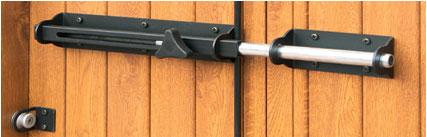 Costruzione sbarre di sicurezza sbarre bloccaggio porte e - Barre antintrusione per porte di casa ...